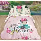 """Постельное белье """"Minnie Little Flower"""" розовый, Минни Маус, Ранфорс, Нордтекс"""