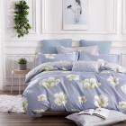 Постельное белье Kingsilk VX-111, голубой, Сатин, Kingsilk