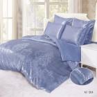 Постельное белье Arlet AC-204, синий, Жаккардовый шелк, Kingsilk