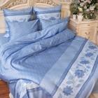 """Постельное белье Balimena """"CL-8241 Blue"""", Мако-Сатин, Балимена"""