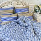 "Постельное белье Balimena ""Watson Blue"", Бязь, Балимена"