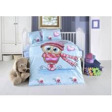 Детское белье в кроватку КПБ Polletto ранфорс Tango PL1015-02, Ранфорс, Танго
