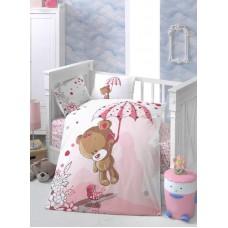 Детское белье в кроватку КПБ Polletto ранфорс Tango PL1015-11, Ранфорс, Танго