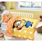 Детское белье в кроватку КПБ HamiCat Tango CB1215-12, Сатин, Танго