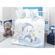 Детское белье в кроватку КПБ Polletto ранфорс Tango PL1015-16, Ранфорс, Танго