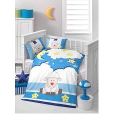 Детское белье в кроватку КПБ Polletto ранфорс Tango PL1015-03, Ранфорс, Танго
